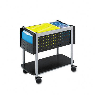 Safco Scoot Open Top Mobile File Cart 5373BL