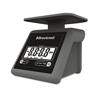 "Brecknell Ps7 7 Lb. Portable Digital Postal Scale 5.6"" W X 5.2"" D Platform"