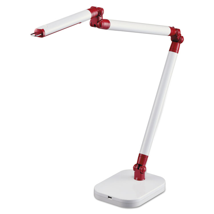 "Black & Decker PureOptics 29.5"" H LED Architect Desk Lamp White"