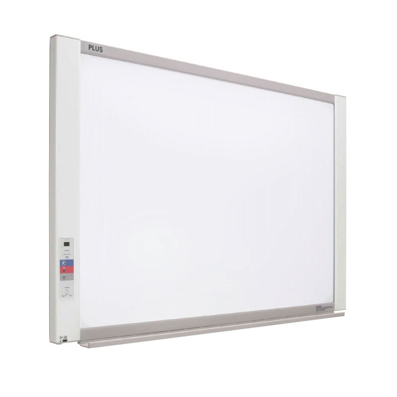 "PLUS M-17S Black & White Electronic Copyboard Whiteboard  51"" W x 36"" H  423-236"