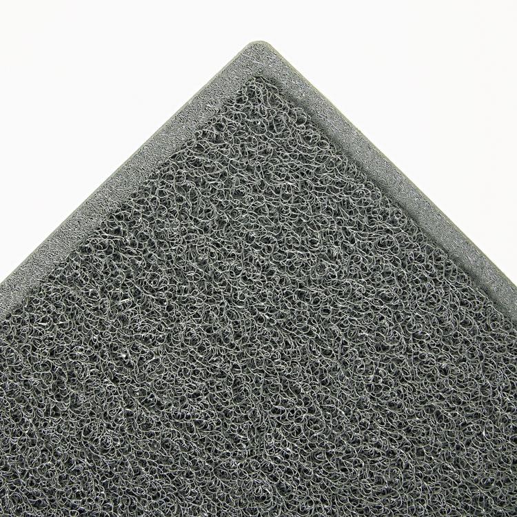 """3m Dirt Stop Scraper Mat Polypropylene 36"""" X 60"""" Slate Gray"""