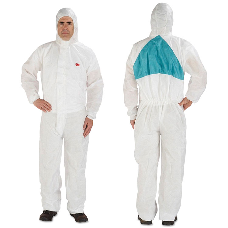 3m Disposable Protective Coveralls White X-large 6/pack