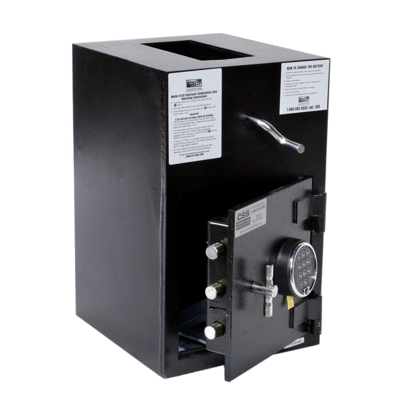 "FireKing RH2012-SR2 Electronic Lock 1.12 cu. ft. ""B"" Rated Rotary Drop Safe RH2012-SR2"