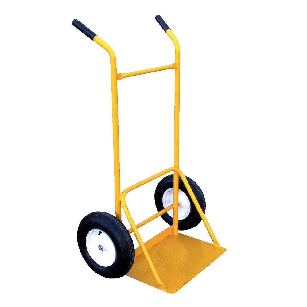 Vestil SITE-C-FF Dual Handle Rough Terrain Site Cart Hand Truck  Foam Filled Wheels SITE-C-FF