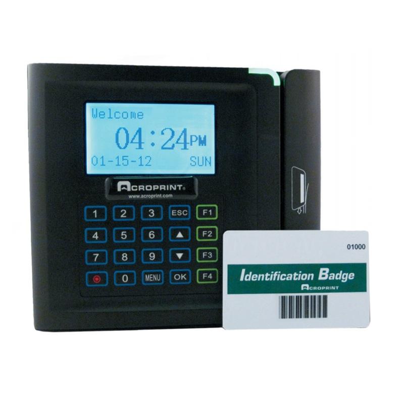 Acroprint Timeqplus Barcode Badge System Bundle