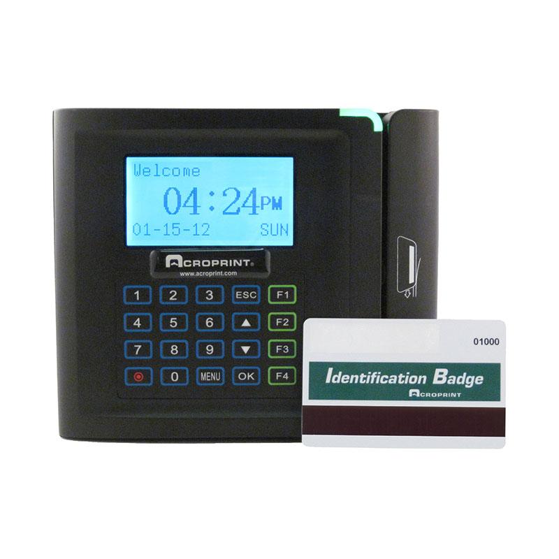 Acroprint Timeqplus Magnetic Stripe System Bundle