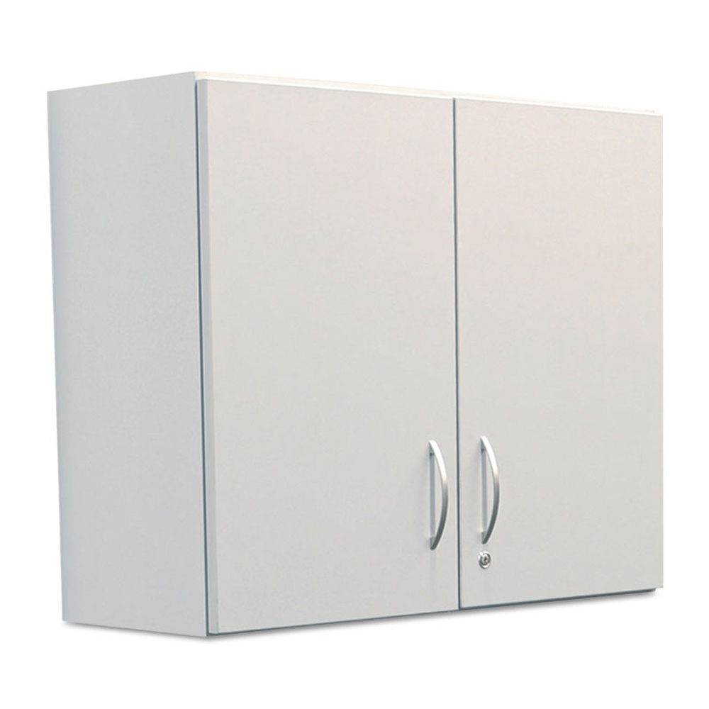"Alera Br181gy 36"" W X 14"" D Plus Hospitality Wall Cabinet Grey"