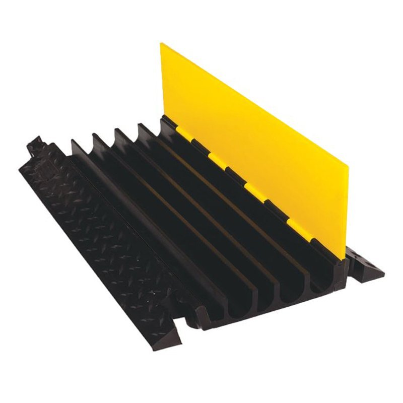 "Checkers 5-channel 1.25"" Yellow Jacket Cable Protector Ams System In Yellow/black"