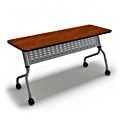 Mayline SY1848T Sync 48 W x 18 D Rectangle Training Table