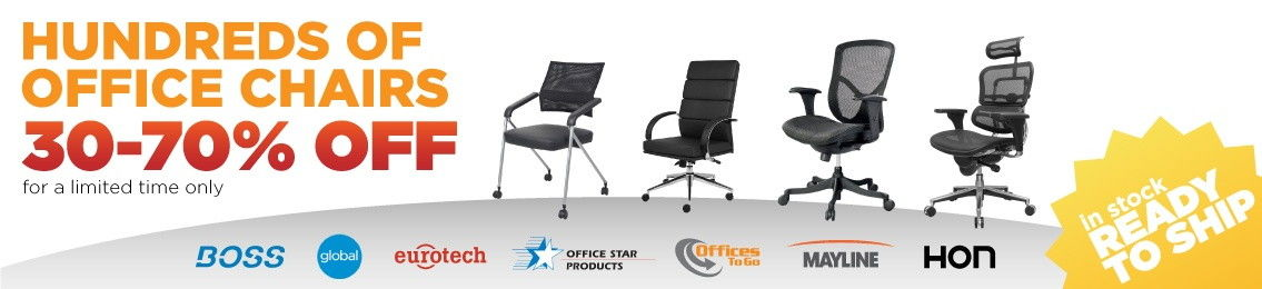 Over 400 Office Chairs on Sale